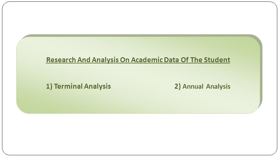 The Process Exam/ Test Results Of Students Are Collected From Students  Student/Parents Submit Data Online.