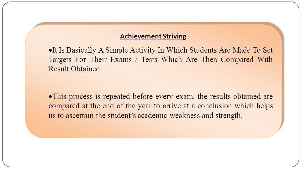 Achievement Striving
