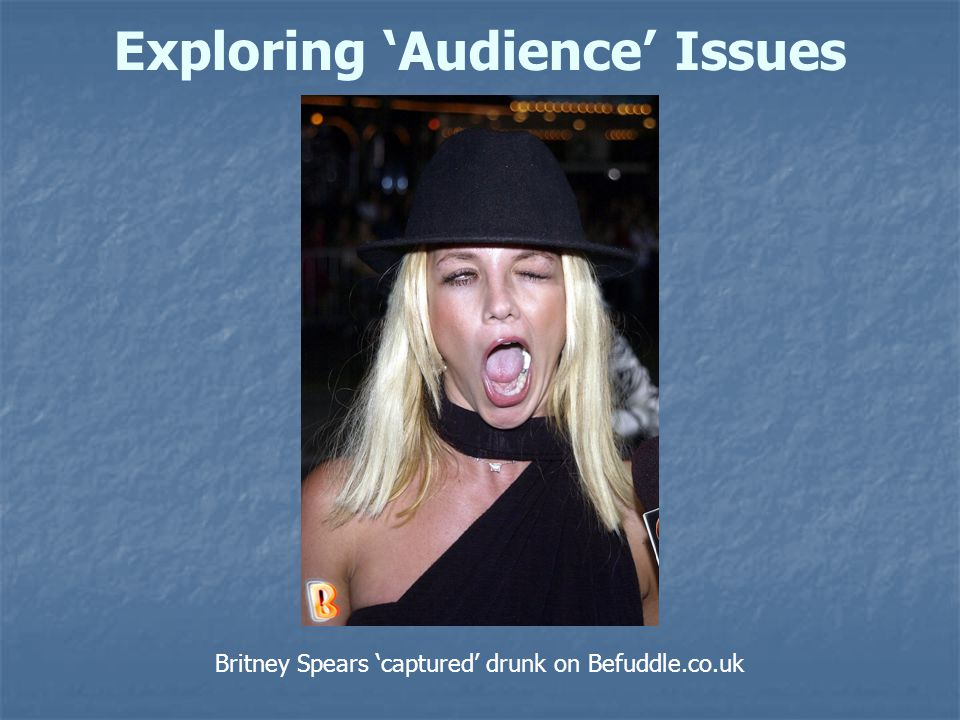 Britney Spears 'captured' drunk on Befuddle.co.uk