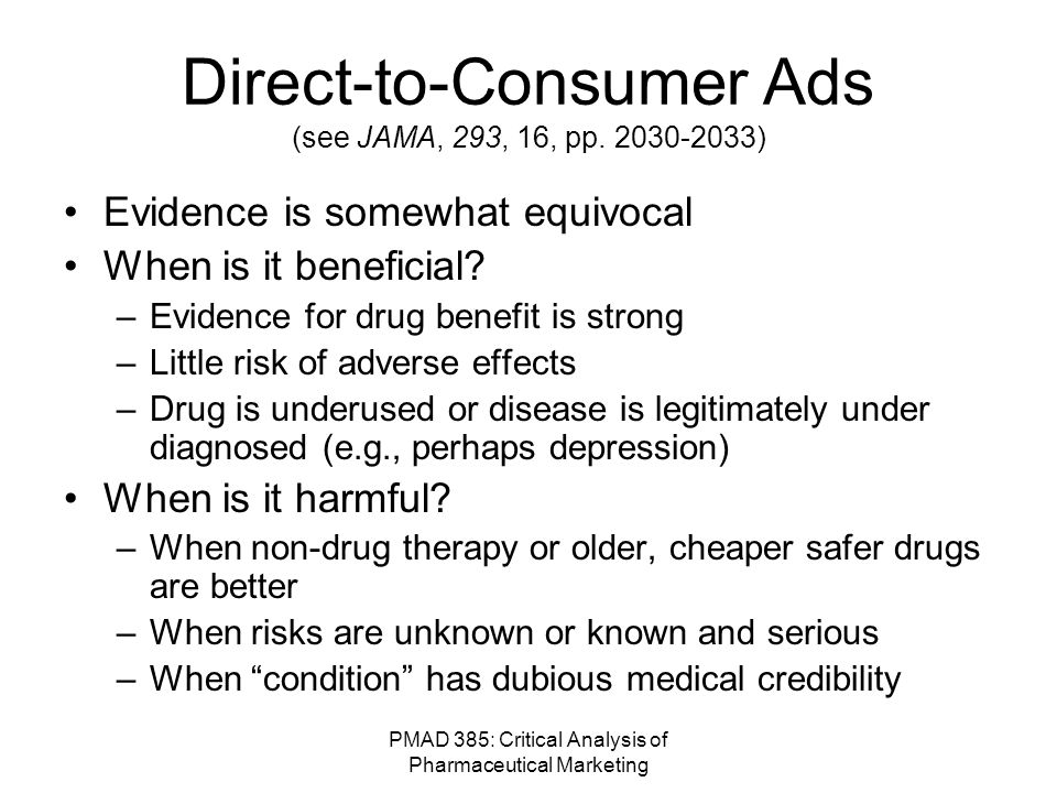 PMAD 385: Critical Analysis of Pharmaceutical Marketing Maxair Violations.