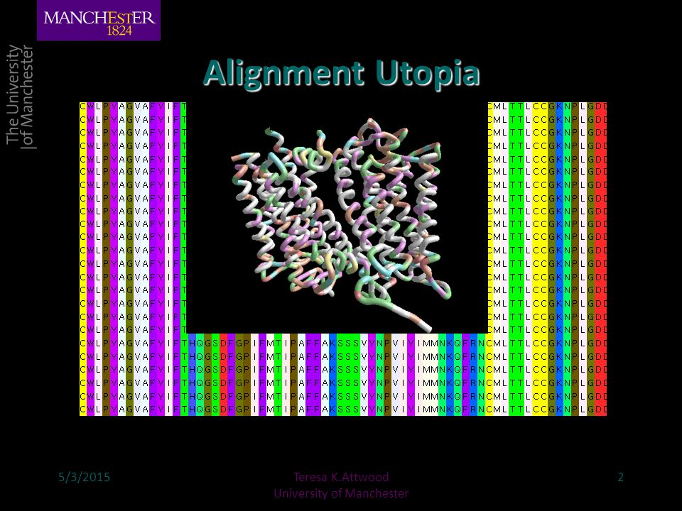 So how do we make alignments.