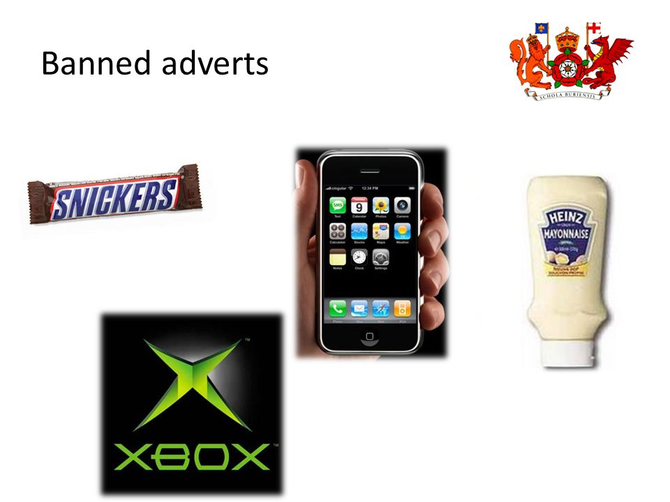 Banned adverts
