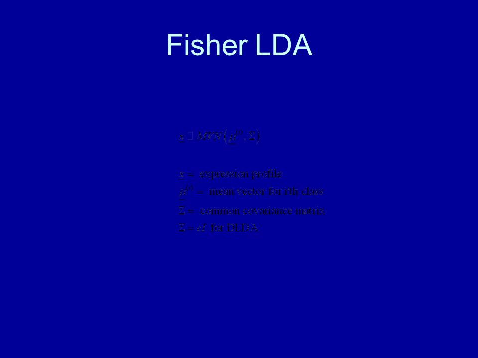 Fisher LDA