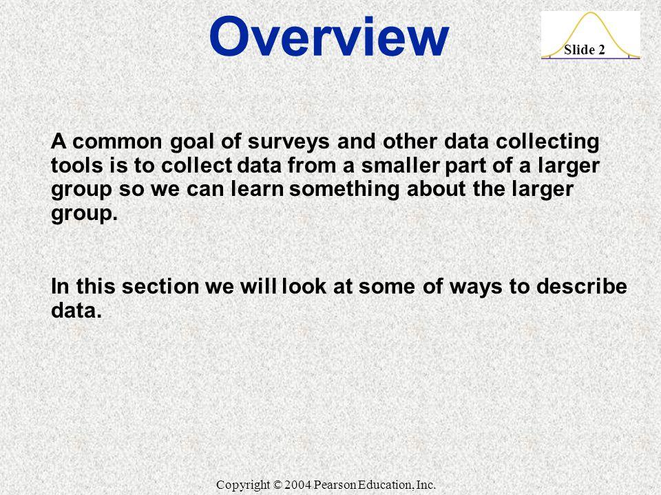 Slide 2 Copyright © 2004 Pearson Education, Inc.