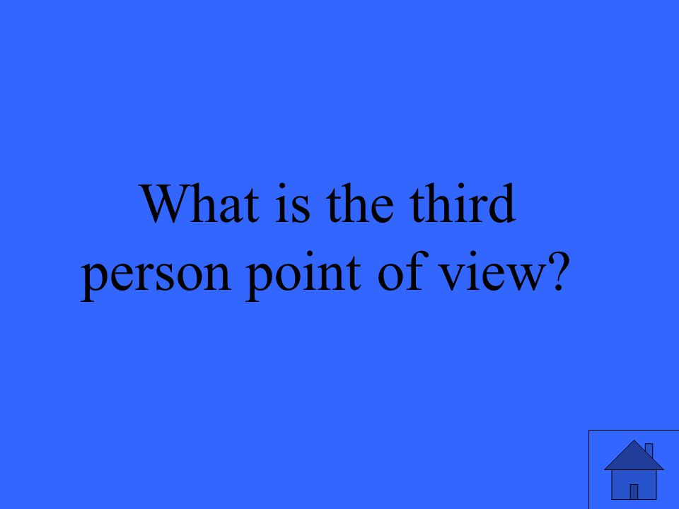 23 What is the third person point of view