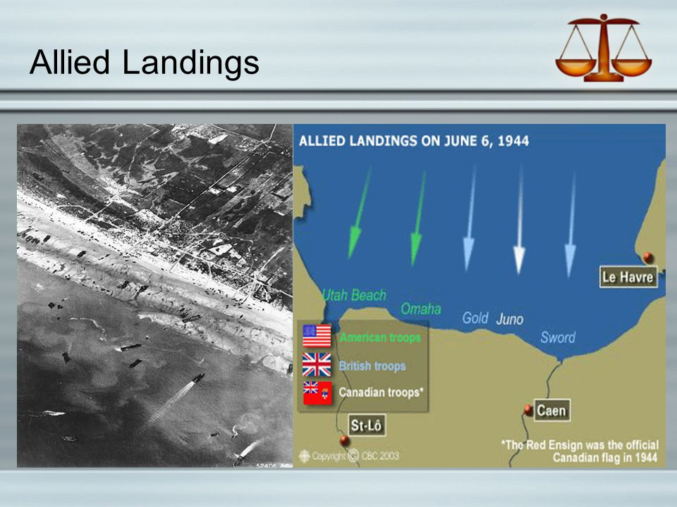 Allied Landings
