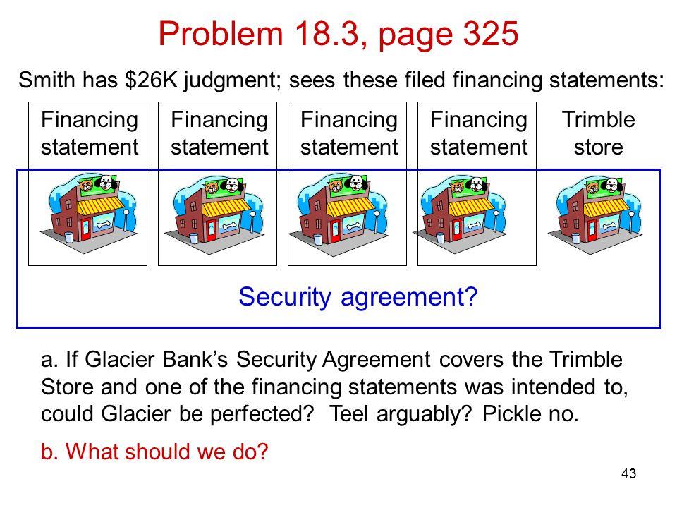 43 Problem 18.3, page 325 a.
