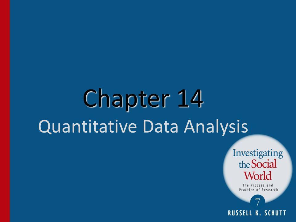 Chapter 14 Chapter 14 Quantitative Data Analysis