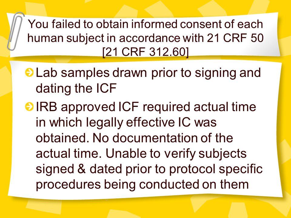 FDA Misconduct