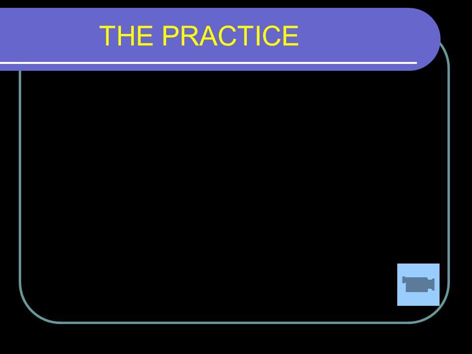 5/3/2015 43 THE PRACTICE