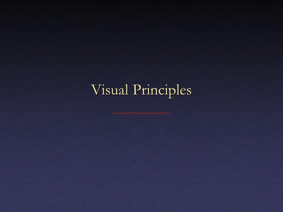Visual Principles