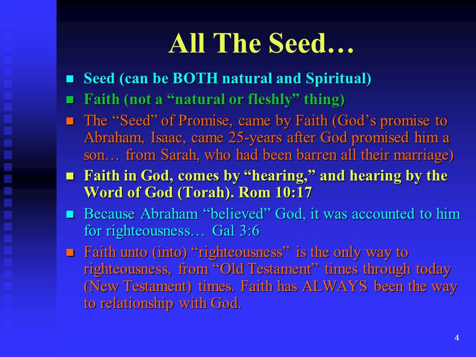 25 Conclusion, Your Hebrew Roots As a Believer, YOUR Hebrew Roots are deeply anchored in Torah.
