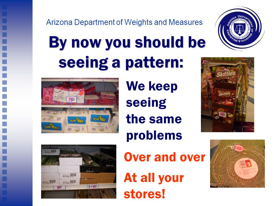 Arizona Department of Weights and Measures Is this glass plate 2 for 99.99 cents… Or $1 each