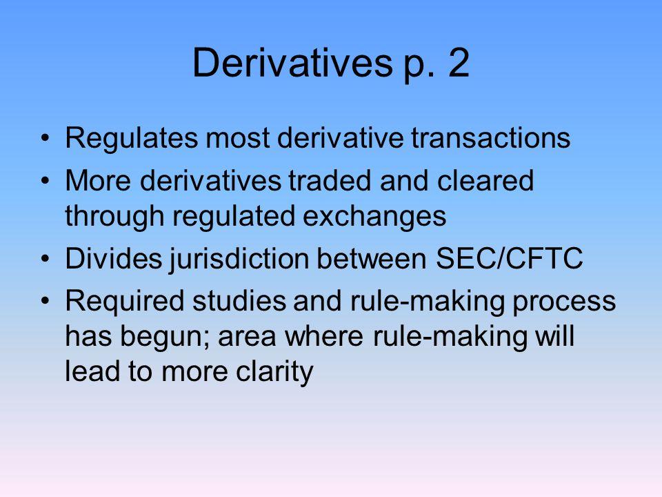 Derivatives p.