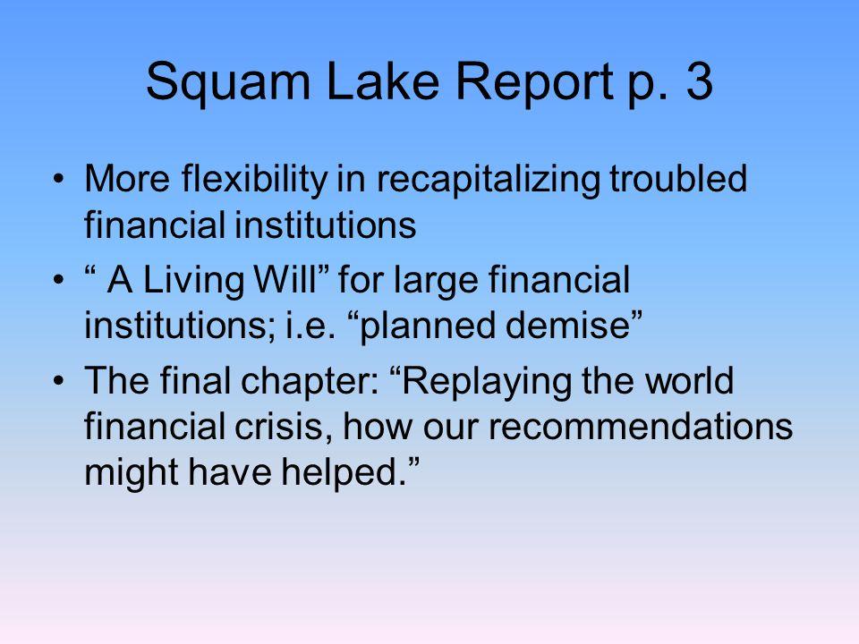 Squam Lake Report p.