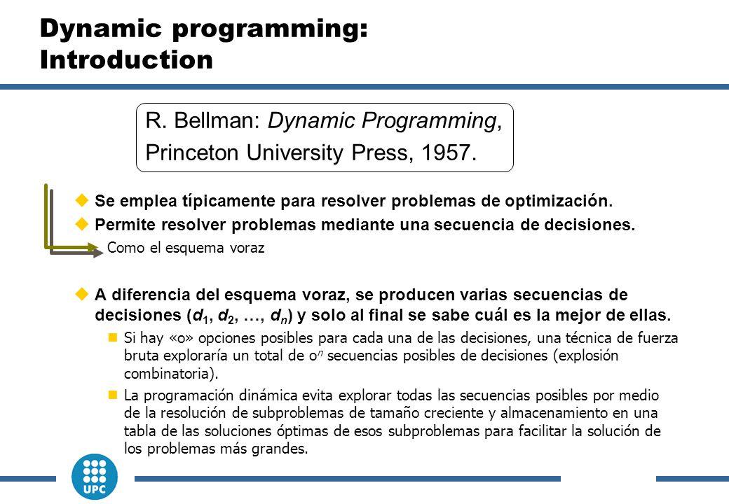  Se emplea típicamente para resolver problemas de optimización.