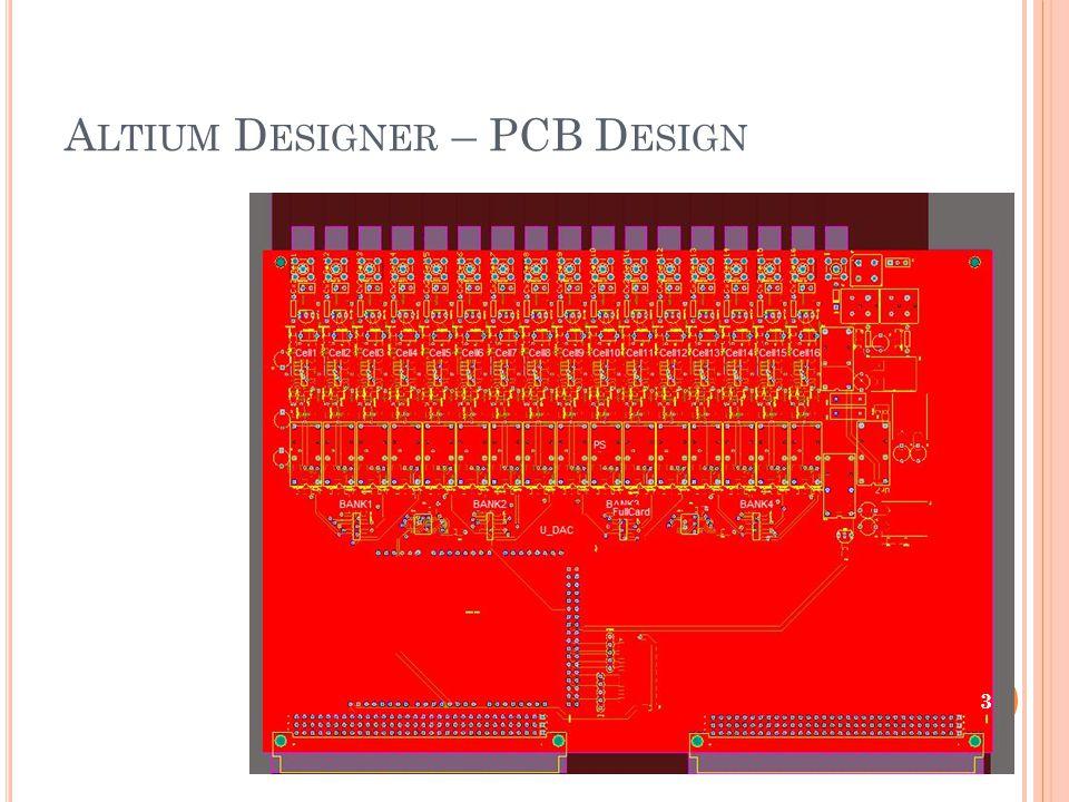 A LTIUM D ESIGNER – PCB D ESIGN 3