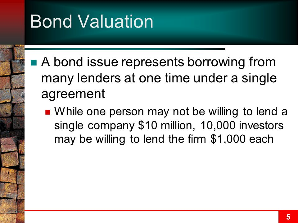 16 Determining the Price of a Bond—Example Q:The Emory Corporation issued an 8%, 25-year bond 15 years ago.