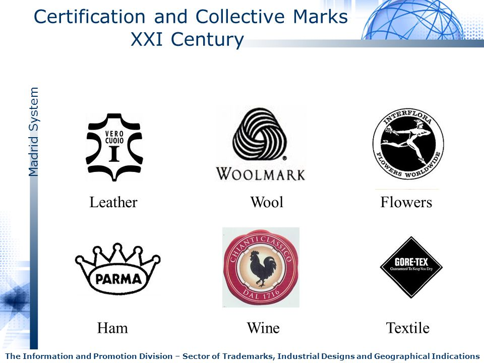 Madrid System The Information and Promotion Division – Sector of Trademarks, Industrial Designs and Geographical Indications Certification and Collect