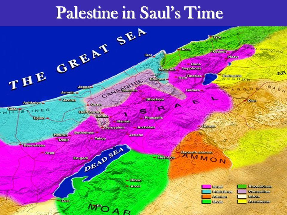 Palestine in Saul's Time