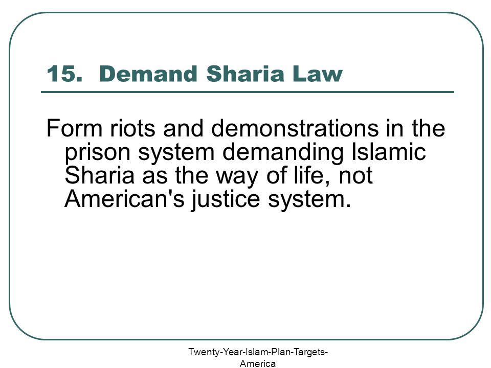 Twenty-Year-Islam-Plan-Targets- America 15.