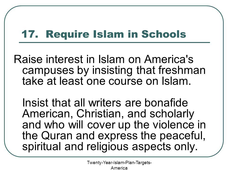 Twenty-Year-Islam-Plan-Targets- America 17.