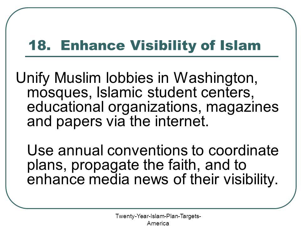 Twenty-Year-Islam-Plan-Targets- America 18.