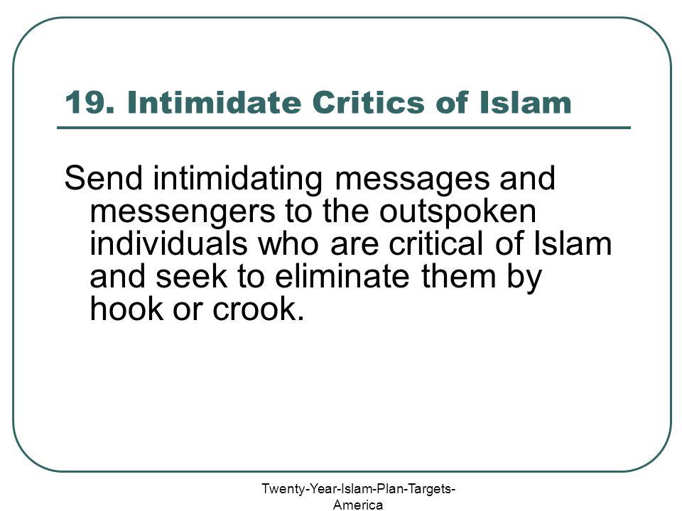 Twenty-Year-Islam-Plan-Targets- America 19.