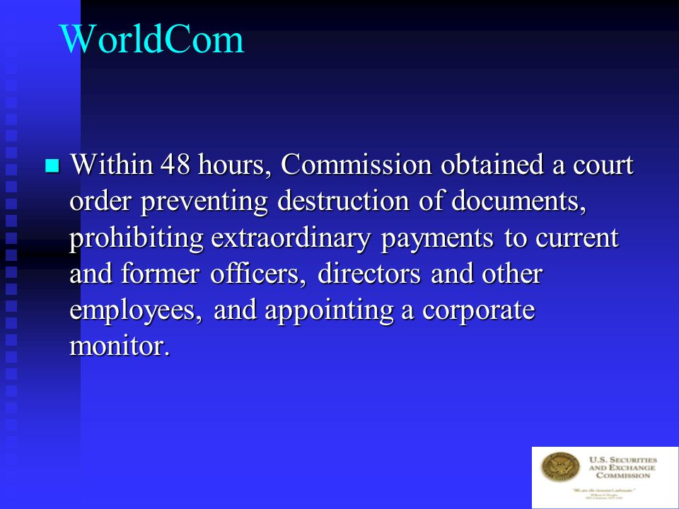 WorldCom 6/25/02 Co.