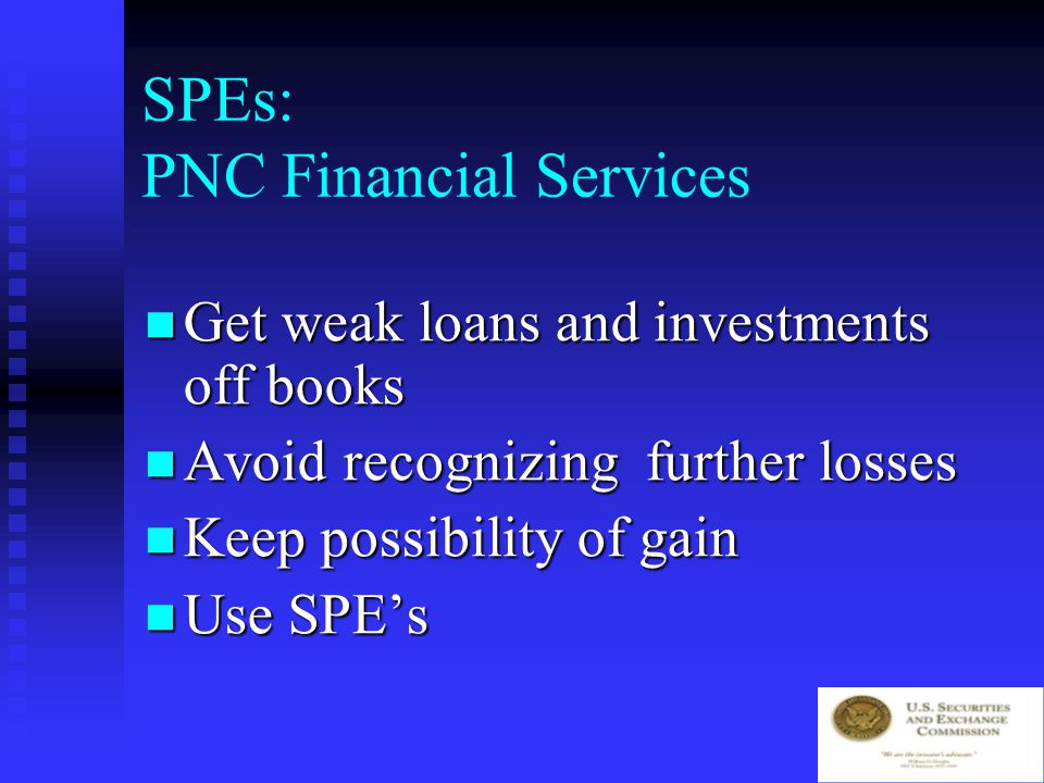 PNC Financial Services Accounting or alchemy Accounting or alchemy