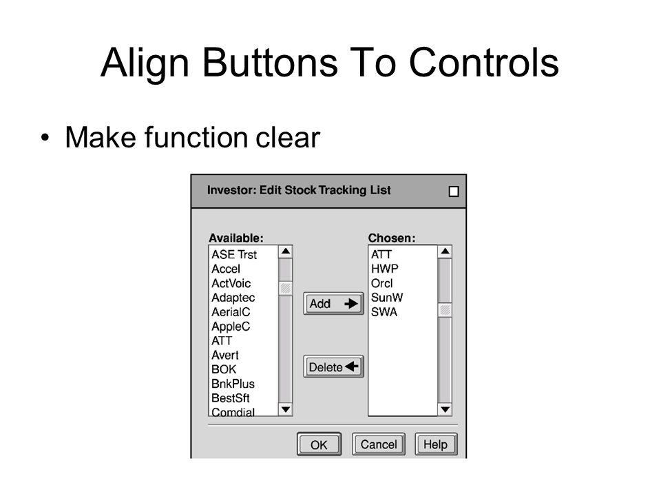 Align Buttons To Controls Make function clear
