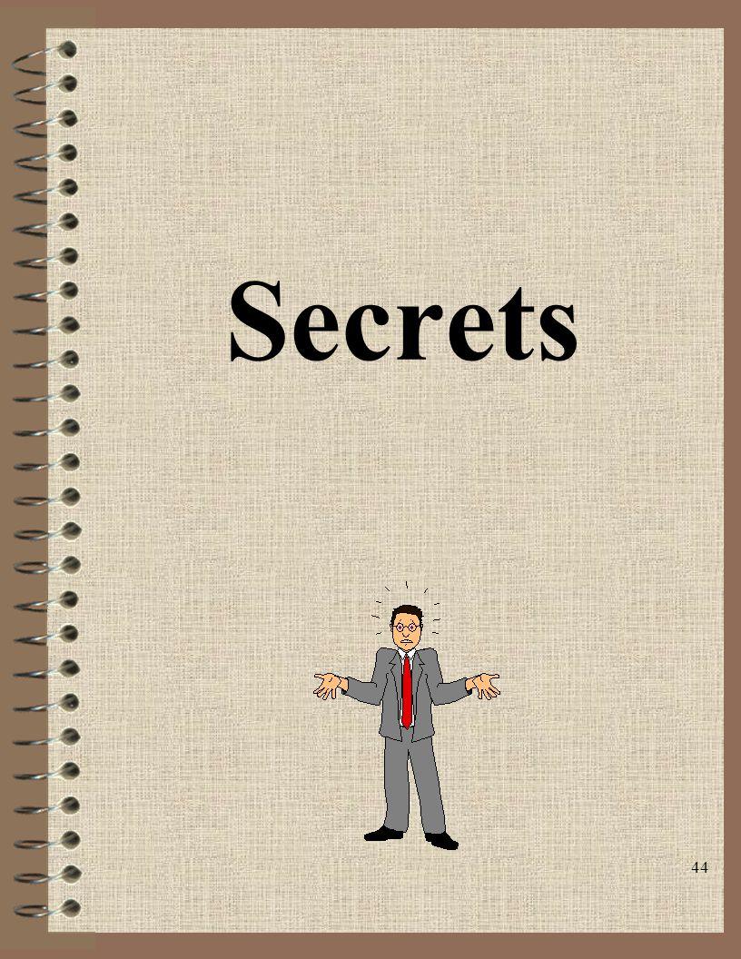 44 Secrets