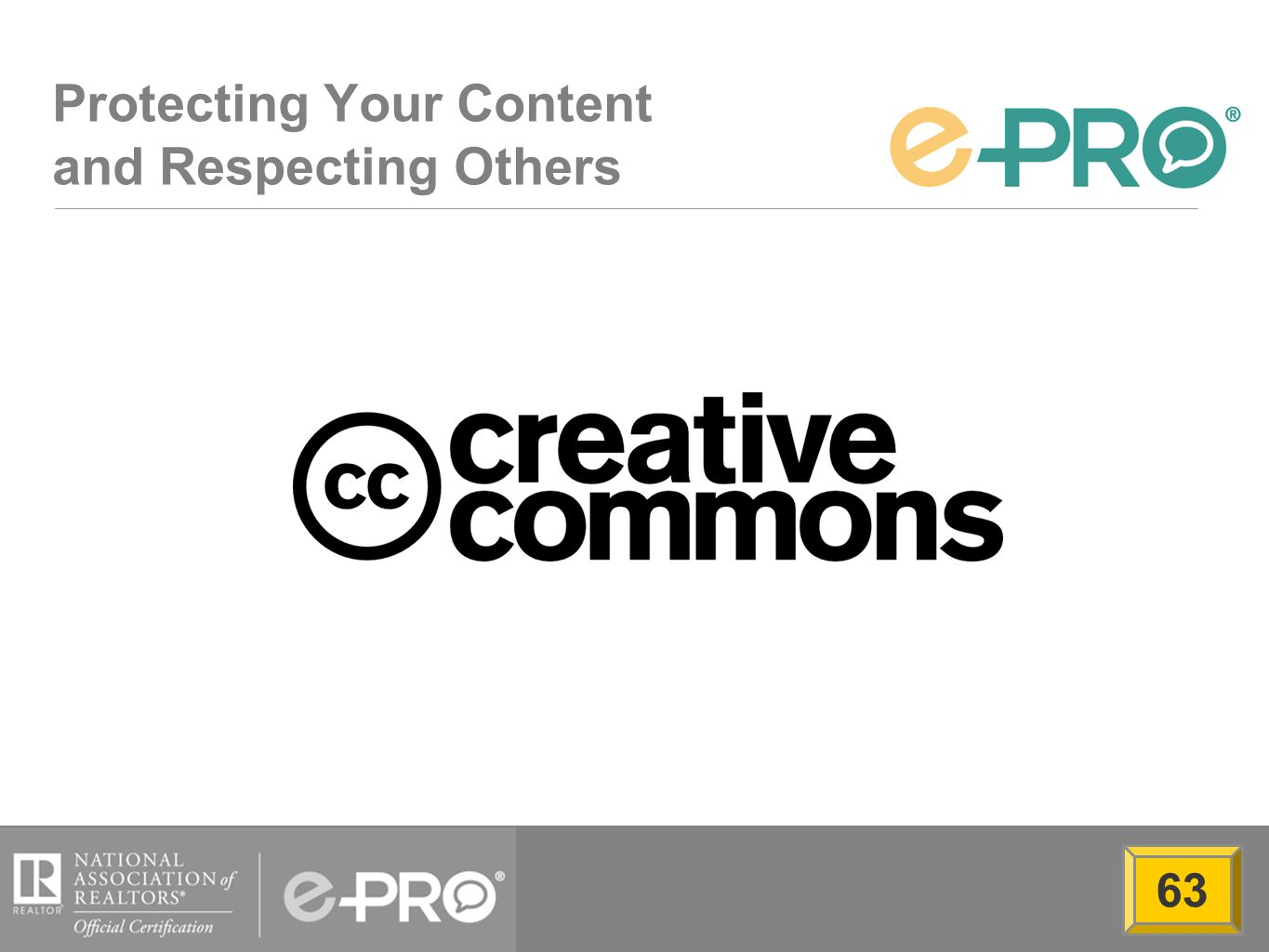 Protecting Your Content and Respecting Others 63