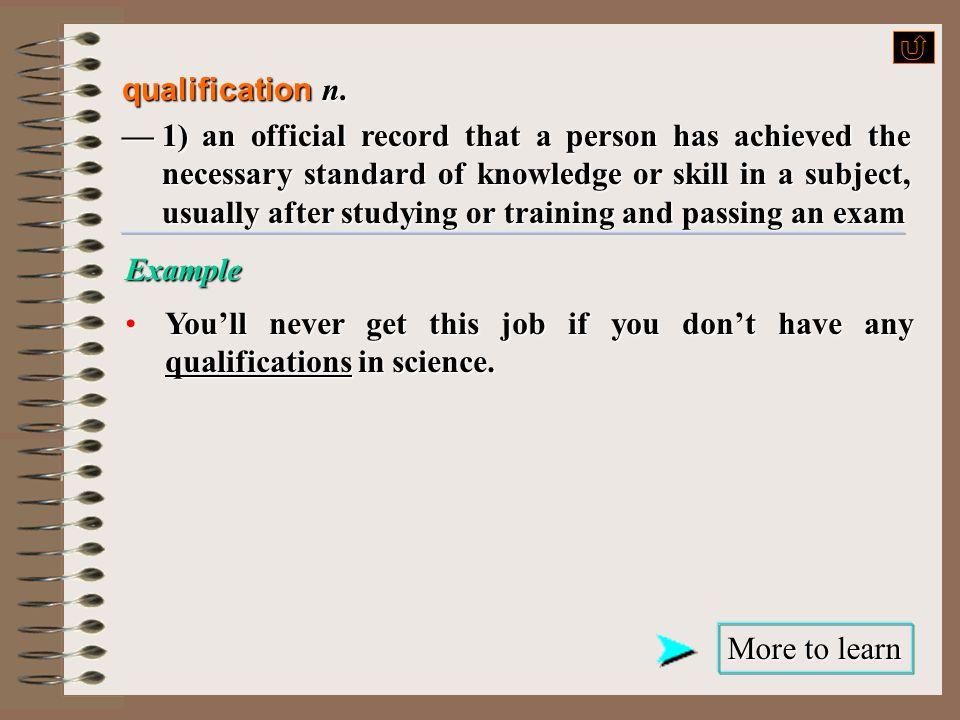 qualify v.