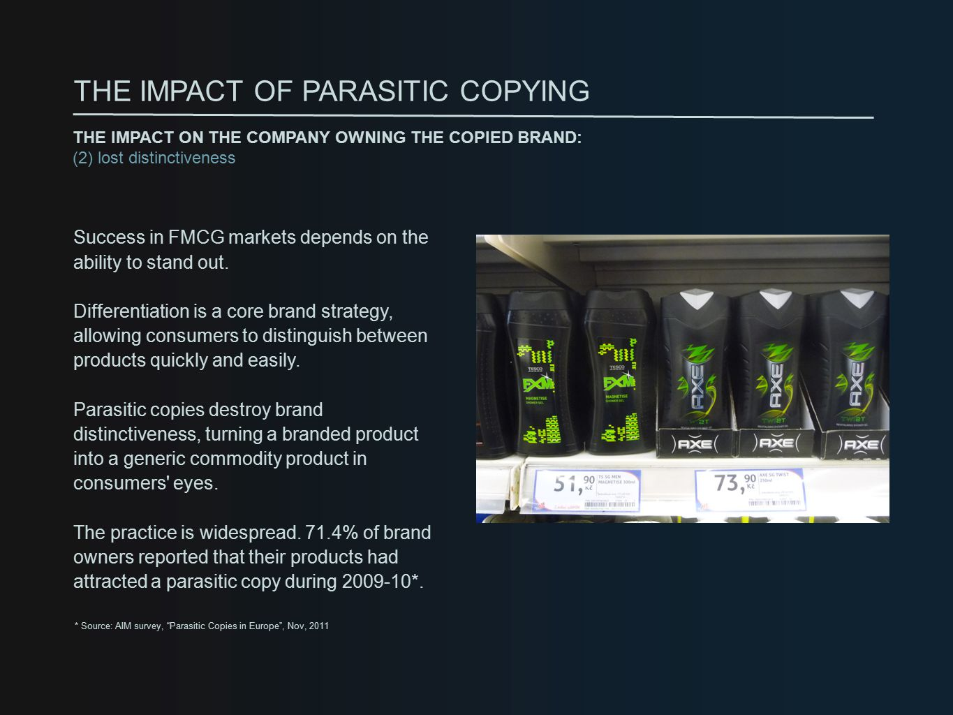 Success in FMCG markets depends on the ability to stand out.
