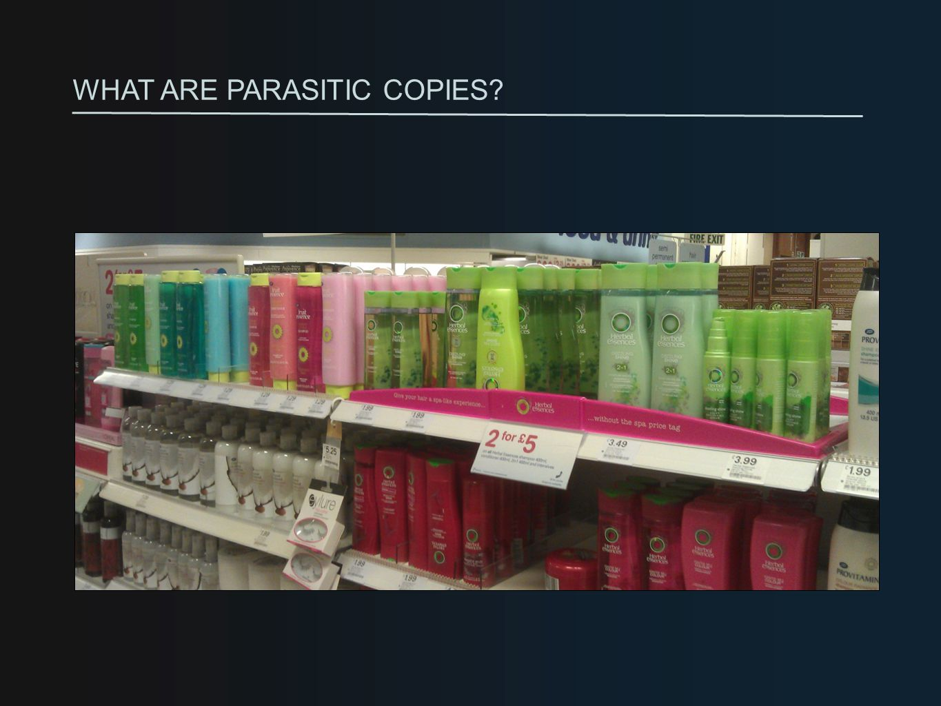 Distinctive designs with shelf-standout get noticed by consumers.