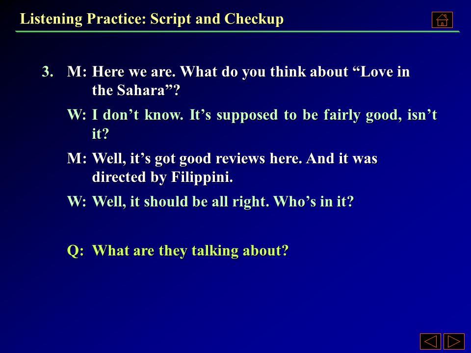3.A)A TV series. B)A novel. C)A love affair. D)A film.