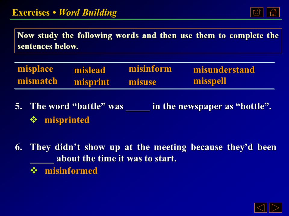 A.Now add -er or -or to the following words, or cut off -er to form new words.