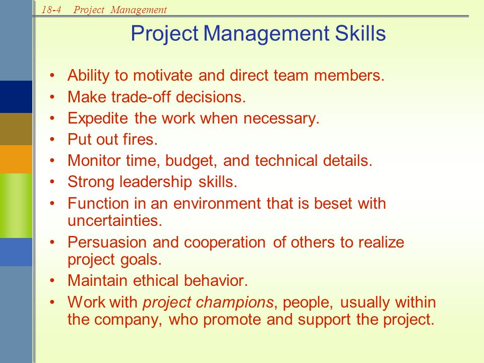 18-25Project Management 6a6a 4d4d 5c5c 10 b 9e9e 2f2f Example 2: Project Network