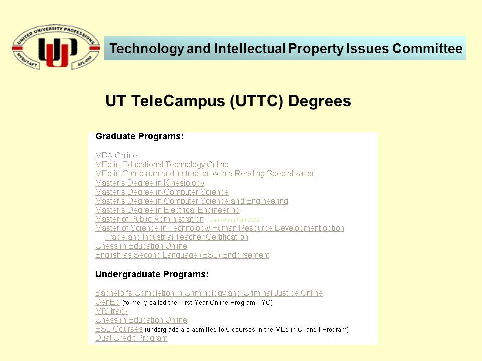 . UT TeleCampus (UTTC) Degrees