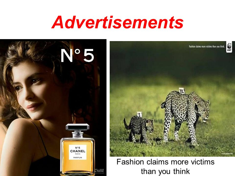 Advertisements Fashion claims more victims than you think