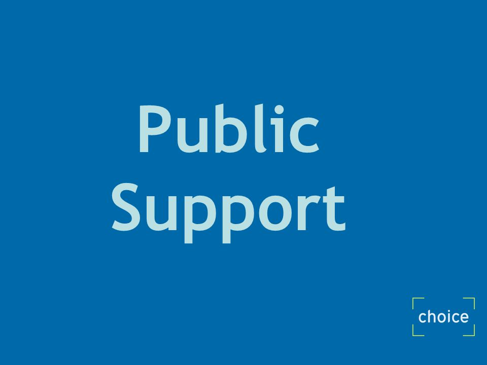 Public Support