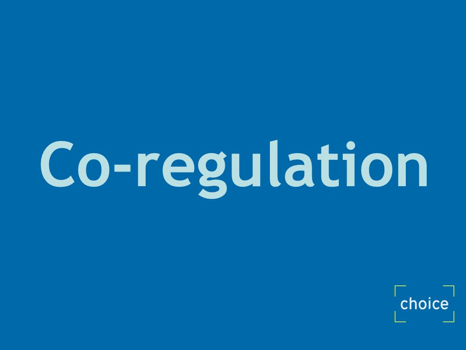 Co-regulation