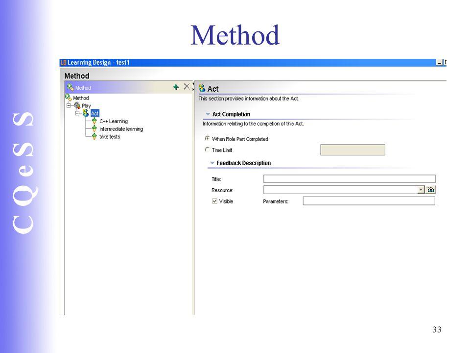 C Q e S S 33 Method