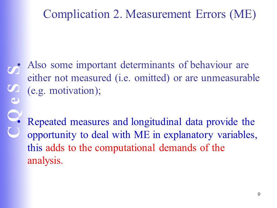 C Q e S S 9 Complication 2.