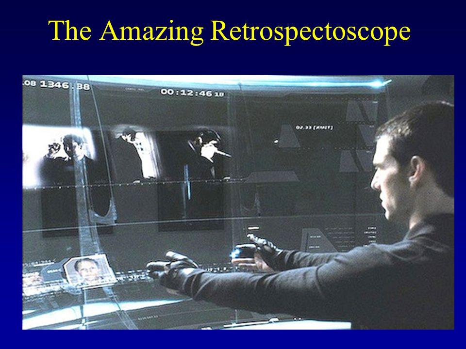 The Amazing Retrospectoscope