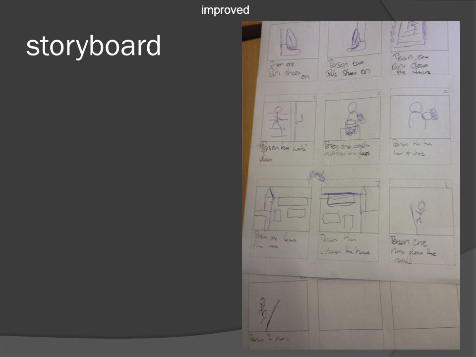 storyboard improved