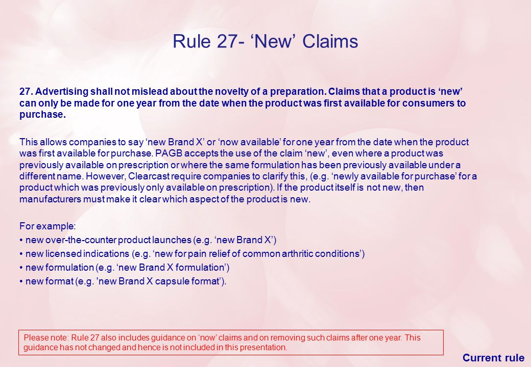Rule 57- Exceptions where not all of the Essential Information is Required Sponsored links that appear on Internet search engines are items over which advertisers have full editorial control and are, therefore, viewed as advertisements.