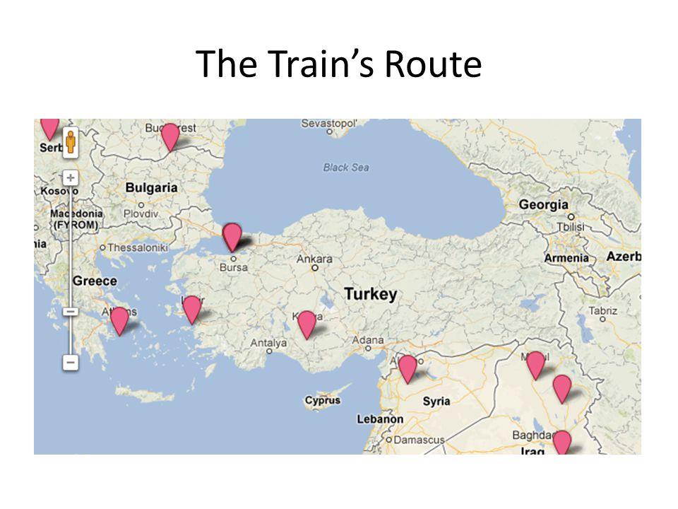 The Train's Route