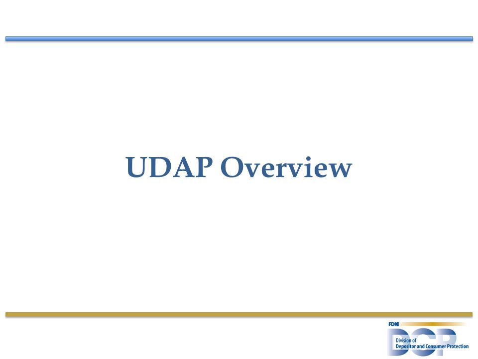 UDAP Overview
